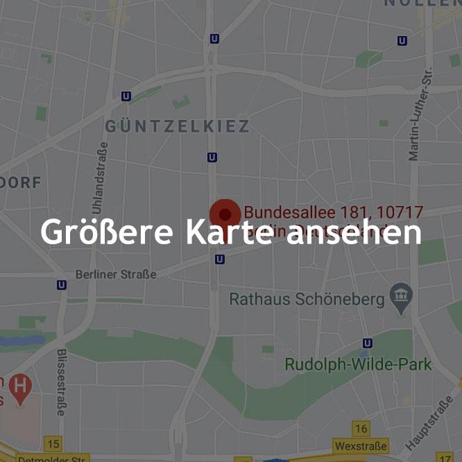 Google Map, mit Text: Größere Karte ansehen